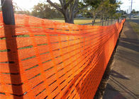 China Oval Shape Plastic Safety Fence SR Style HDPE Safety Security Fencing factory