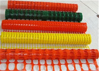 China High Visablity Orange Plastic Safety Fence With Barrier Tape / Traffic Cones factory