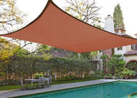 China Rectangle Sand Sun Shade Patio Cover , Outdoor Shade Sails 10' X 13' 185GSM factory