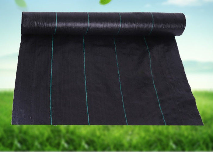UV Resistance Garden Weed Control Fabric Black - Green Weed Control Barrier