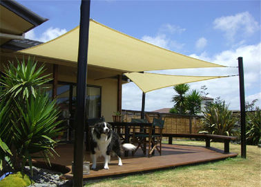 China 100% Virgin HDPE With UV Treated Garden Shade Sail Outdoor Sun Shade Sails Triangle And Square Shape factory