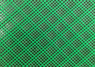 Multi Functioned HDPE Plastic Mesh For Garden , Extruded Green Plastic Fencing Roll