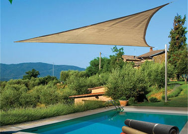 HDPE Triangle Outdoor Sun Shade Sail Canopy For Carport And Pool