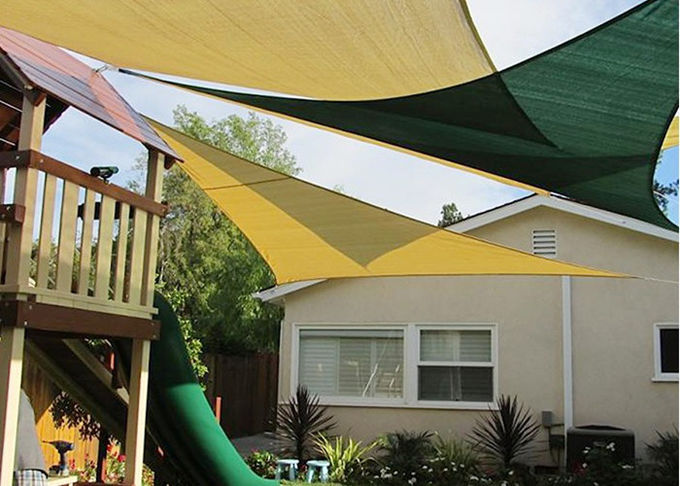 UV Resistant Garden Shade Sail Patio Canopy Top Cover For Garden