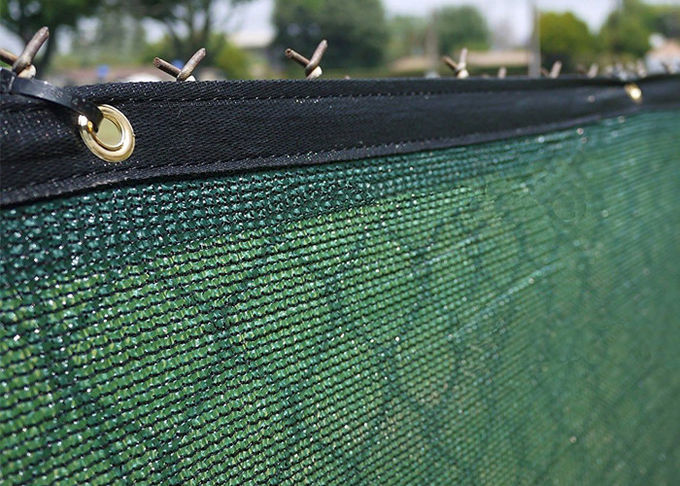 Plastic Windscreen Privacy Green Screen Mesh For Gardening Net Green Color